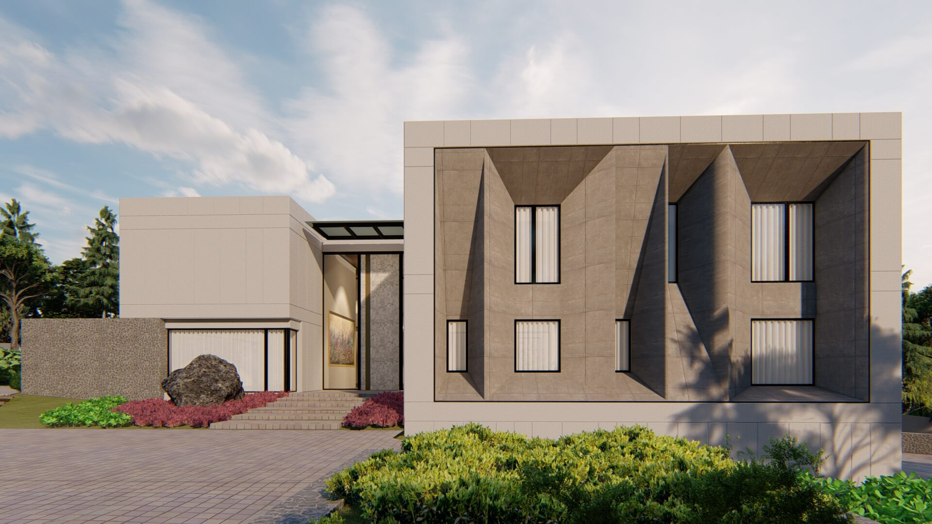 diseño de casas modernas hecho por constructora con experiencia