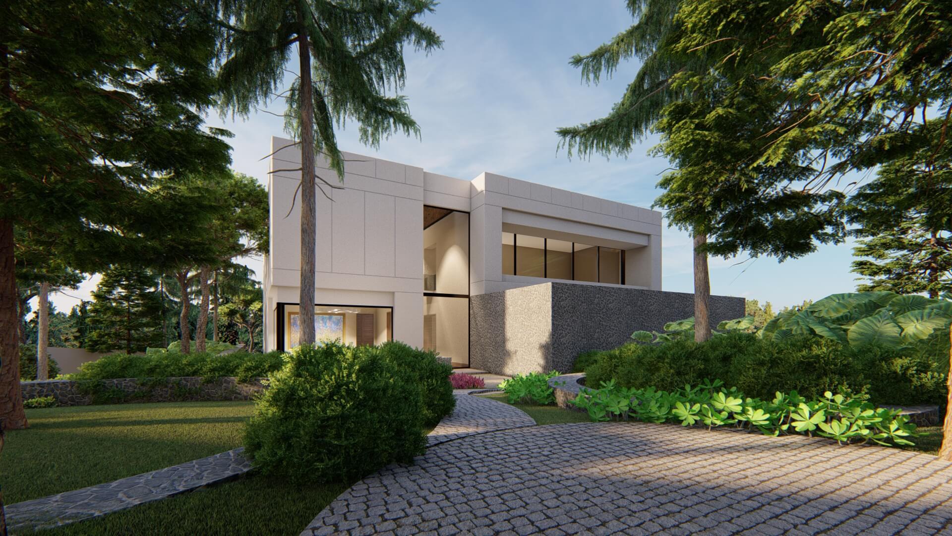 arquitectura de proyecto de diseño de interiores