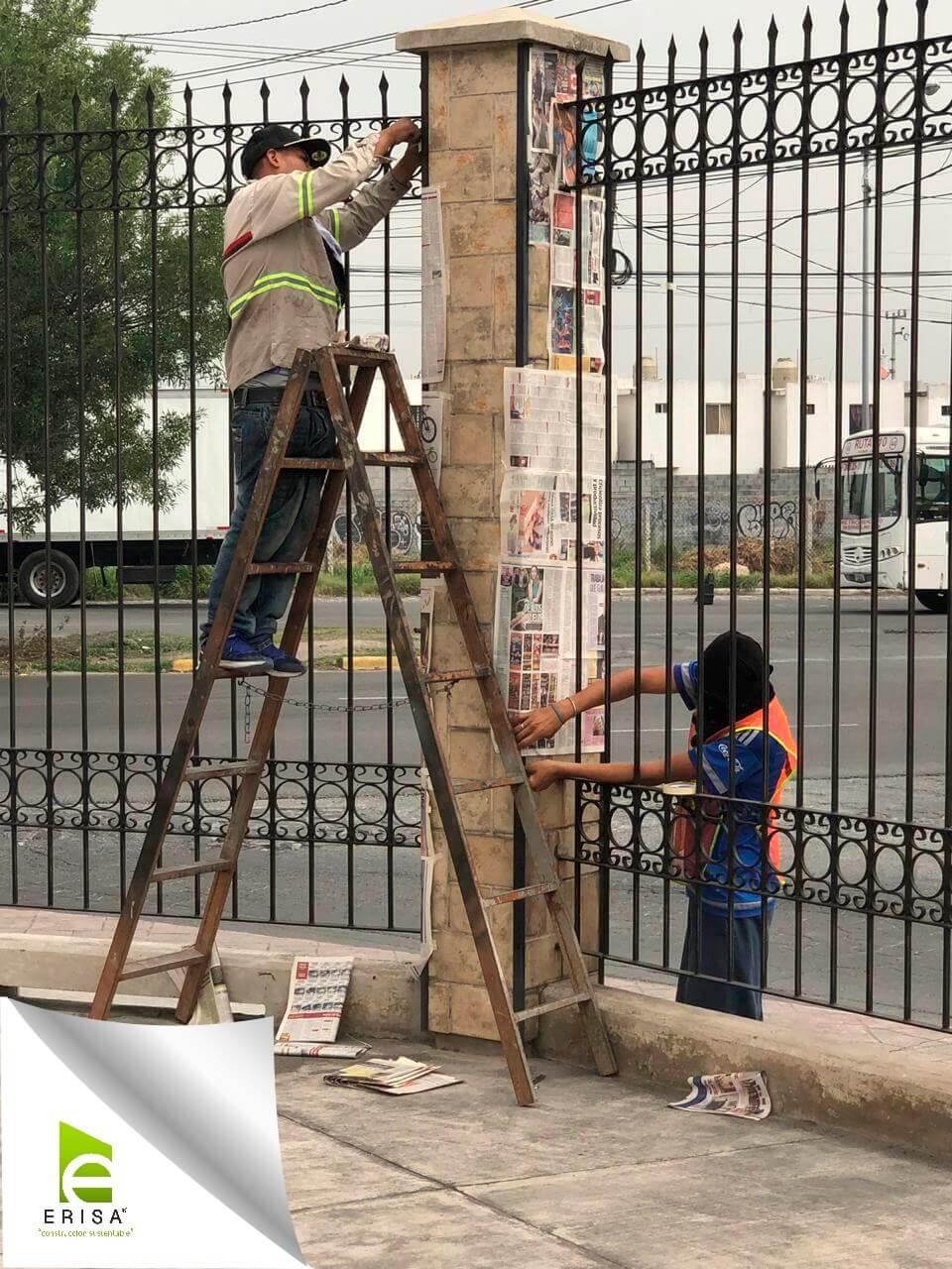 equipo humano para proyecto de urbanización