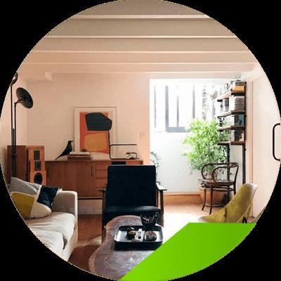 Erisa - ejemplo de casa decorada