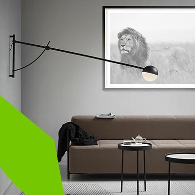 Erisa - Diseño de interiores de salas en tendencia - estilo minimalista