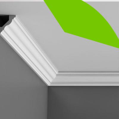 Erisa-23 ideas sencillas para remodelar el hogar con poco presupuesto-13-Molduras en los techos