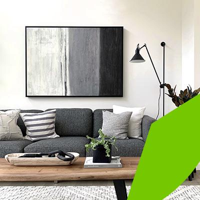 Erisa-23 ideas sencillas para remodelar el hogar con poco presupuesto-5-Cuadros