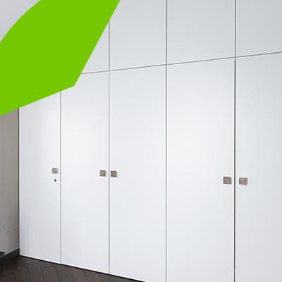 Erisa-23 ideas sencillas para remodelar el hogar con poco presupuesto-9-Puertas de los armarios