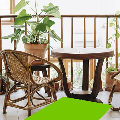 Erisa-29 ideas para jardines pequeños-21-Jardines para complementar su terraza