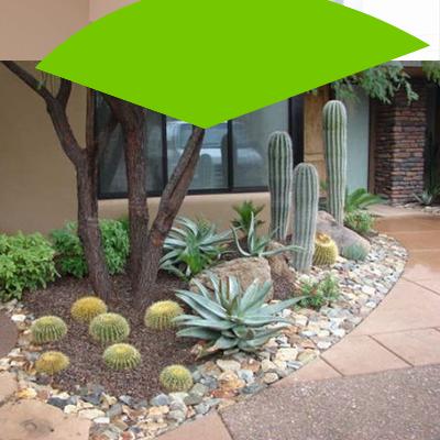 Erisa-29 ideas para jardines pequeños-6-Jardines con detalles en piedras