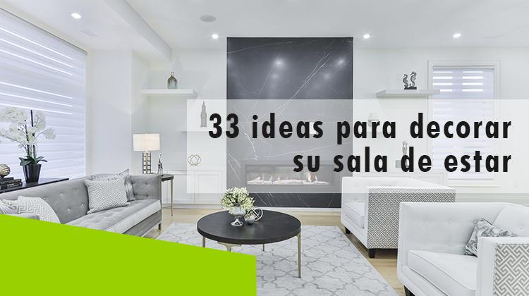 erisa - 33 ideas para decorar su sala de estar banner
