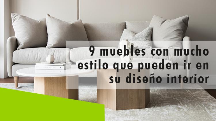 Erisa-9 muebles con mucho estilo que pueden ir en su diseño interior-Banner