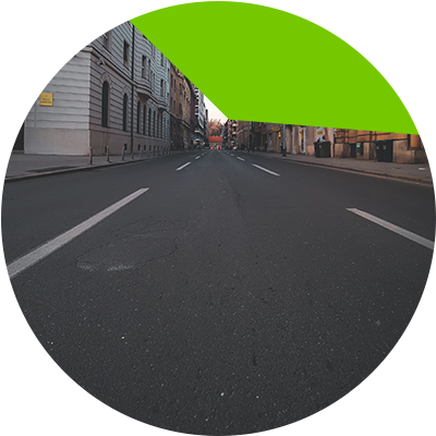 Erisa- calle pavimentada