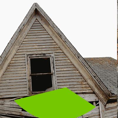 Erisa-Cuándo reemplazar el tejado-Pudrición del tejado
