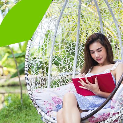 Erisa-10 maneras de transformar tu patio -Cuelga una hamaca moderna