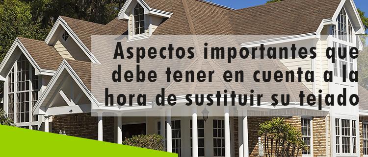 Erisa-Aspectos importantes que debe tener en cuenta a la hora de sustituir su tejado