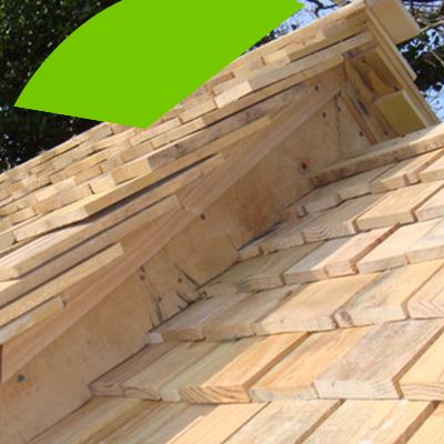 Erisa-Los fundamentos de la sustitución de tejados-Tejas de Madera