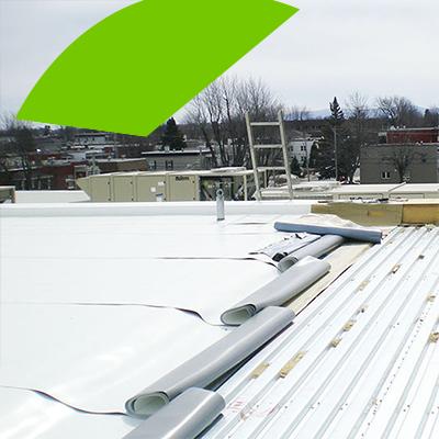 Erisa-Tipos de materiales más comunes usados para los techos planos-Techo plano de PVC